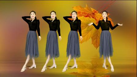 《两情相悦比翼飞》广场舞瘦身减肥精彩无限,80后辣妈跳出好身材