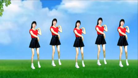 《女驸马》广场舞减肥瘦身,舞步优美,80后辣妈跳的太精彩了!