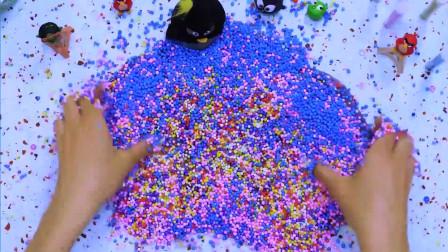 本期大放送,所有彩色圆珠一个不剩,精彩颜色碰撞 (2)