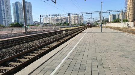 Z282次进沧州站,杭州至包头