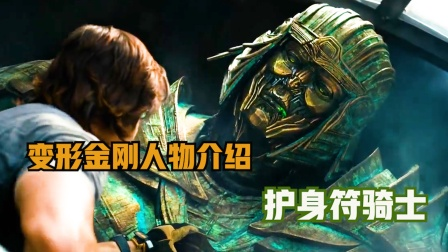 变形金刚人物系列介绍之护身符骑士
