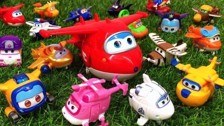越看越有趣!超级飞侠变形机器人大集合 儿童益智玩具