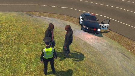 警察模拟器:双胞胎兄弟在路边打架结果两人都被抓了
