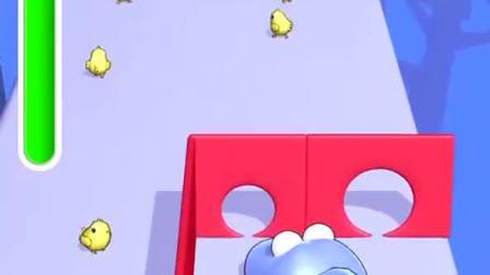 趣味小游戏:毛毛虫现在不吃小人了,偷偷吃我们家的小绵羊,气死我了