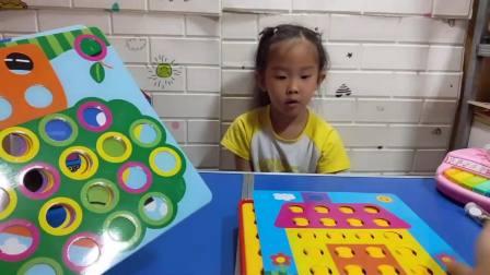 妍妍拼的生日蛋糕拼的好吗