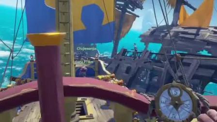 趣味小游戏:盗贼之海砖家团这种情况每天都在上演,我是说沉船!