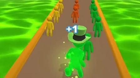 趣味小游戏:人类一败不起,戴上绿油油的帽子后的强势崛起