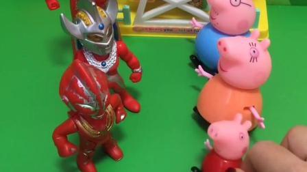 童年趣事: 奥特曼和小猪们