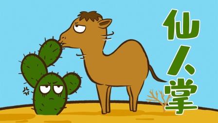 骆驼生吞仙人掌为什么不会觉得扎嘴?