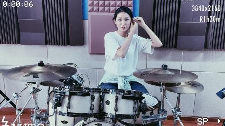 【架子鼓】魔兽世界《亡灵序曲》高中女生 女鼓手