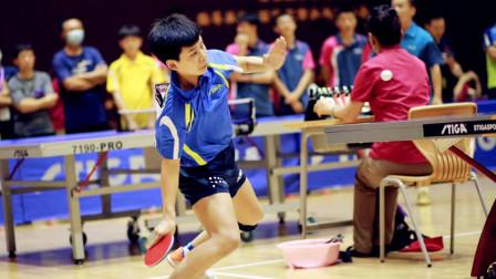 学生给老师上了一课,13岁王豪博出手犀利力克吴迪,帅气!