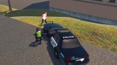警察模拟器:市区发生多起抢劫案出警逮捕了一名嫌疑犯