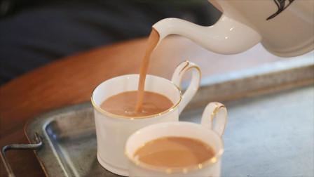 经典港式奶茶的简单做法只需1分钟