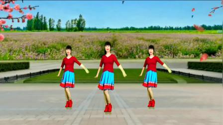 减肥瘦身广场舞《爱情关口》动感的旋律,优美舞姿!
