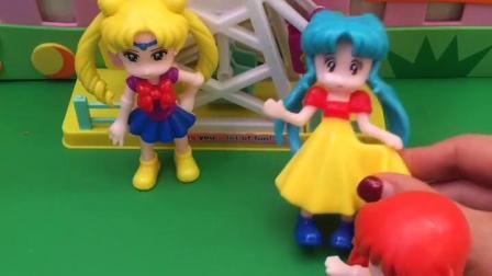 童年趣事:美少女战士真会玩美少女战士