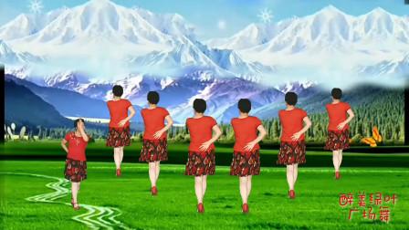 《火火的姑娘》广场舞背面演示完整版含背面口令分解