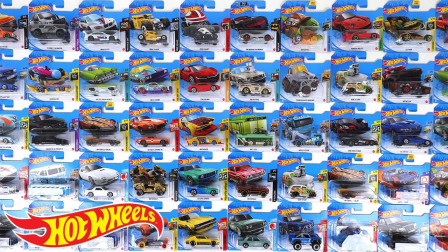 彩色小汽车玩具拆盒停入停车场