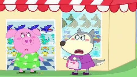 露西被困服装店,沃夫能找到妹妹吗