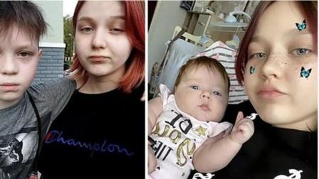 俄罗斯一少女13岁当妈妈,如今15岁准备生二胎