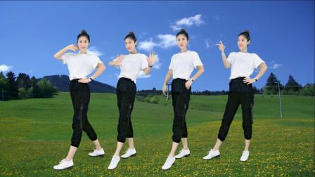 精选广场舞《人生就像烈酒一杯》舞步优美,瘦身减肥!
