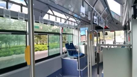 七台河公交10路新车车内乘车体验