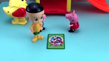 童年趣事: 奥特曼从卡片里出来了