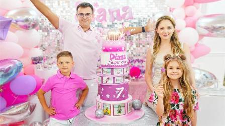 小可爱的生日大派对,家人和朋友送上爱心的祝福,还有精彩的演出