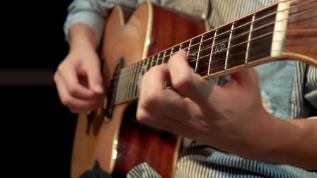 超好听吉他版《lovin'you》结尾的泛音美呆了