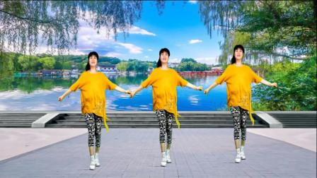 广场舞精选《动感白卡》燃烧脂肪,减肥瘦身,美女们跳得太好了!