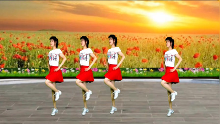 精选广场舞《美丽的松山》舞姿优美,燃脂瘦身!