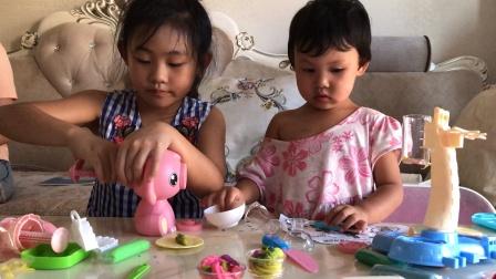 冰淇淋玩具雪糕水果橡皮泥制作亲子玩具