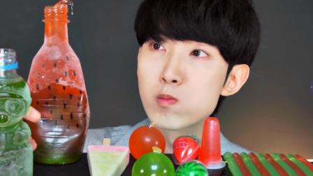 红绿色美食,主打西瓜风,你是否喜欢?