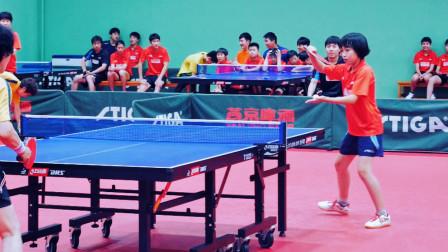 来自新疆的广东冠军是北京队未来之星,11岁杨惠泽一柄黑檀闯天下