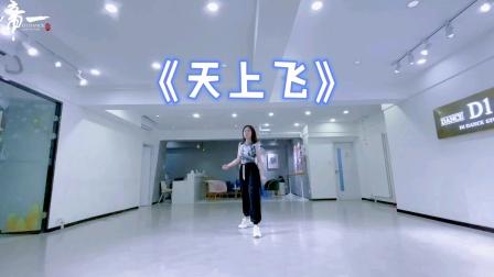 网络热门舞蹈天上飞青岛帝一舞蹈工作室