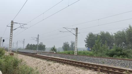 电力客车K8360(合肥-淮北)两道通过上局合段HXD3C083325T25K-2021/08/30-12:26:54