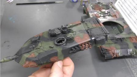 Genessis 一步步制作Meng 35比例 豹2A7德国MBT 第20集