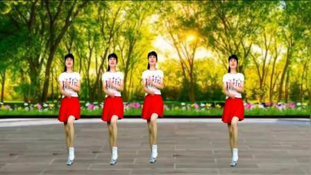 《美丽的松山》减肥瘦身广场舞,舞步优美,80后辣妈跳出好身材