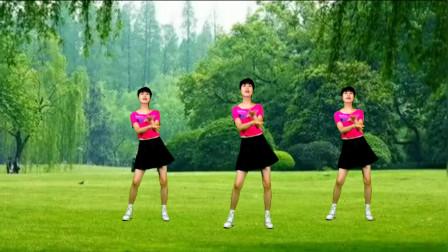 广场舞《就当我们从没爱过》舞步动感时尚,旋律优美,瘦身减肥!