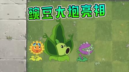 植物大战僵尸动画:豌豆大炮无敌了,僵尸不敢不服