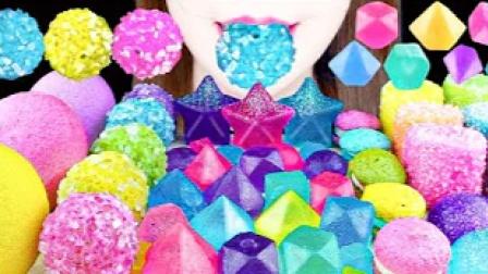 五彩缤纷的创意糖果,颜值高到尖叫,沙沙的咀嚼声悦耳动听