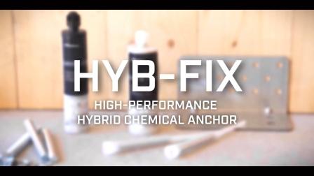 Rothoblaas_HYB-FIX混合型化学锚栓安装方式