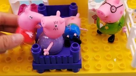 搞笑玩具:佩奇做的菜真好吃