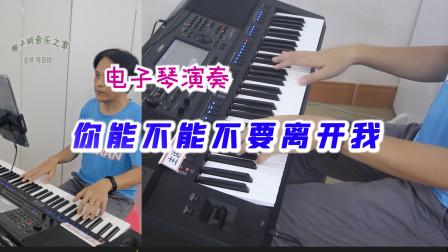 《你能不能不要离开我》电子琴演奏