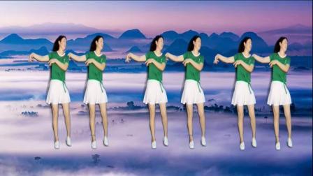 阿娜广场舞-开心最重要-正面