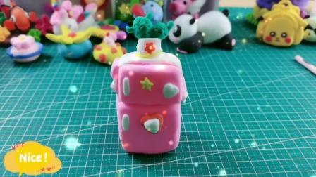 黏土手工:创意小冰箱,好萌啊!