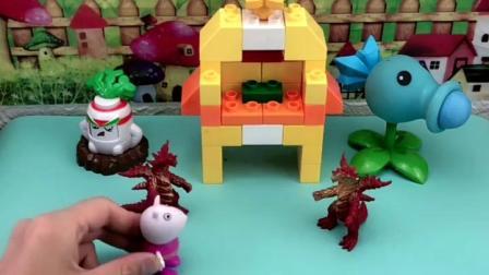 童年趣事:楼房好漂亮呀