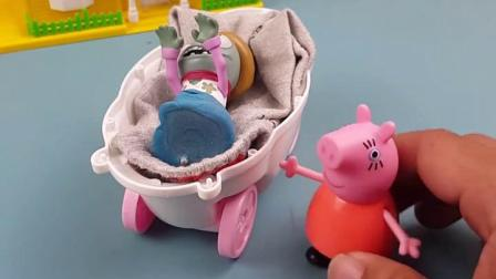 趣味童年:僵尸家的宝宝把别人吓坏了
