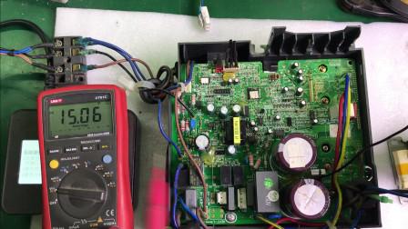 格力变频空调疑难杂症,三个灯闪烁,E6故障(上)