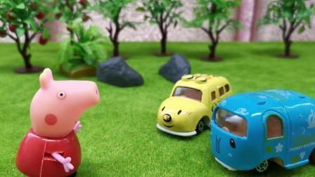小汽车要比比谁更高,结果会是怎么样的呢