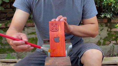 自制最新款手机,你们知道这是哪款手机吗!